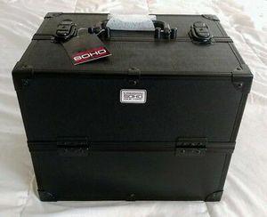 Big Soho Black Eye Pop Crosshatch Beauty Case for Sale in Carrollton, TX