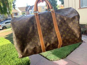 Vintage Louis Vuitton 1980s duffel bag for Sale in San Leandro, CA