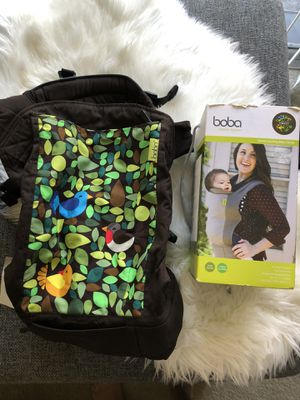 Boba baby carrier for Sale in Pacifica, CA