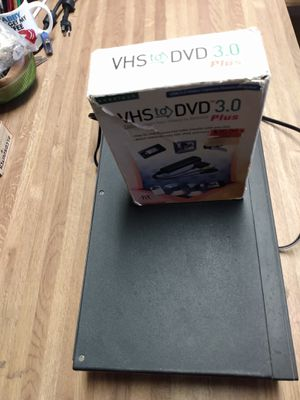 DVD. Player. &. VHS. Converter. for Sale in El Paso, TX