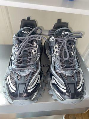 "Balenciaga Track Runners 2 Men's 41 ""Metallic Grey"" for Sale in NEW YORK, NY"