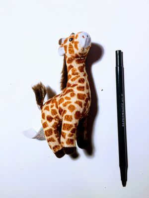 Cute stuffed giraffe toy animal plushie plush cotton soft for Sale in San Leandro, CA