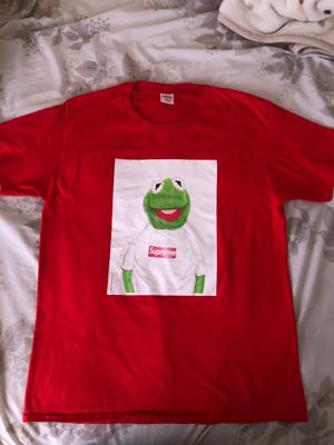 Supreme Red Kermit Tee XL for Sale in Moreno Valley, CA