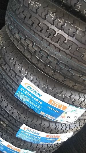 Brand New set of 225 75 15 trailer tires for Sale in Phoenix, AZ