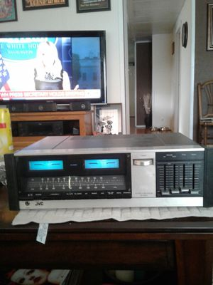 JVC. JR-S1OO VINTAGE STEREO RECEIVER, MADE IN JAPAN -$80 for Sale in Bonney Lake, WA
