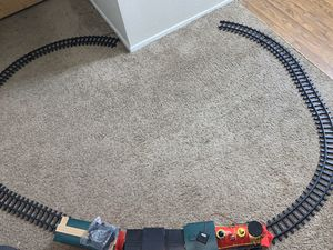 LOCOMOTIVE From NORTH POLE EXPRESS Christmas Train Set! Comes With 16 Tracks ! Everything works including sound for Sale in Las Vegas, NV