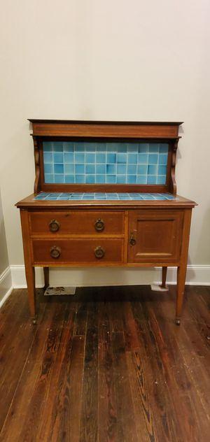 Antique Baker's Cabinet for Sale in Atlanta, GA