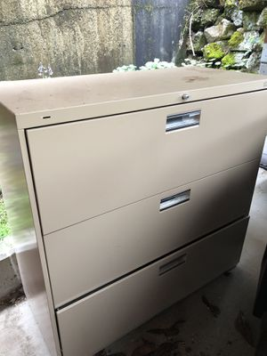 Extra large file cabinet for Sale in Seattle, WA