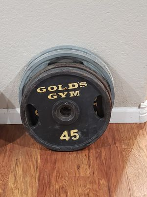 45lb Olympic Weight Plates for Sale in Glendale, AZ