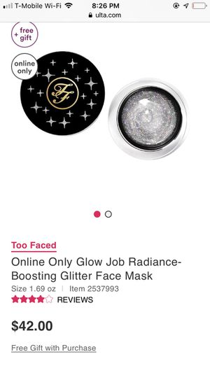 TF GLITTER FACE MASK for Sale in Pasadena, CA