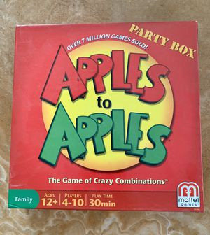 Apples to Apples for Sale in Rosemead, CA