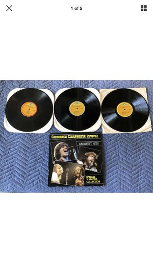 CREEDENCE CLEARWATER REVIVAL Greatest Hits 3 LP 1985 WARNER OP-3514 Vinyl Record for Sale in Upland, CA