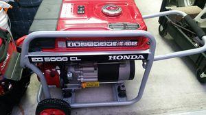 Honda EG 5000 CL generator for Sale in Whittier, CA
