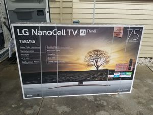 "LG - 75"" Class - LED - Nano 8 Series - 2160p - Smart - 4K UHD TV with HDR for Sale in Hayward, CA"