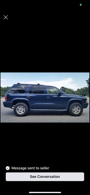 2003 Dodge Durango low miles for sale 3700 obo drives wonderfully just got a new car and no need for the truck anymore for Sale in Hampton, VA