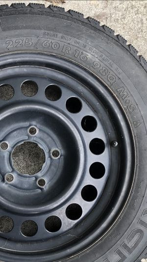 98 Chevy Camaro tires, full set of four on rims 225/60r 16 Asking $100 for Sale in Battle Ground, WA