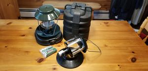 Coleman Camping Propane Lanterns with Hillary Case for Sale in Burrillville, RI