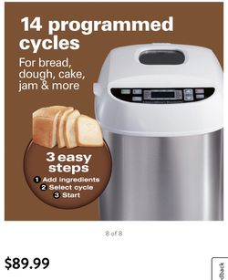 Hamilton beach bread maker for Sale in Monterey Park,  CA