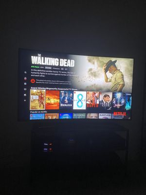 "Samsung - 55"" - LED - Curved - 4K ultra HD TV for Sale in Miami, FL"
