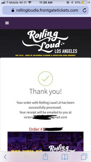 Rolling Loud 2019 for Sale in Las Vegas, NV