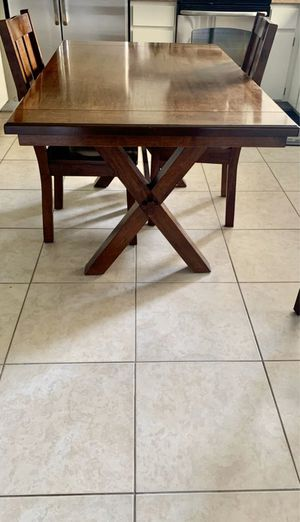 Kitchen table & 4 chairs for Sale in Avondale, AZ