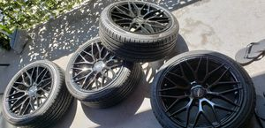 Rims & Tires for BMW sedan 5series, 225/40/18 for Sale in ROWLAND HGHTS, CA