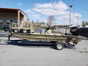 2017 tracker 1860 bow fishing boat for Sale in Johns Creek, GA