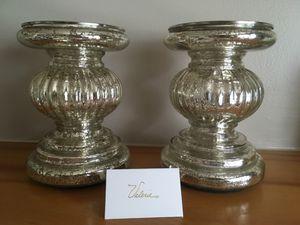 Mercury glass pedestal for Sale in UPPER ARLNGTN, OH