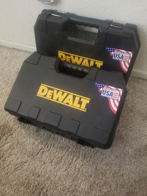 Brand New Dewalt Tool Hard Shelled Carriers for Power Tools/Tools/Storage for Sale in El Cajon, CA