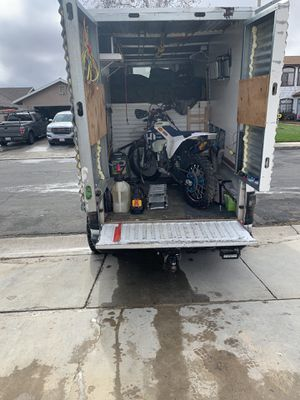 Dodge Ram rv camping toy hauler trucks dirtbike cattier for Sale in Palmdale, CA