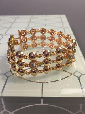 """18k GPL Fancy Ladies Bracelet 7"""" for Sale in Nashville, TN"""