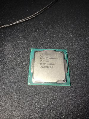 Intel core i7 7700k 4.20GHZ for Sale in Alexandria, VA