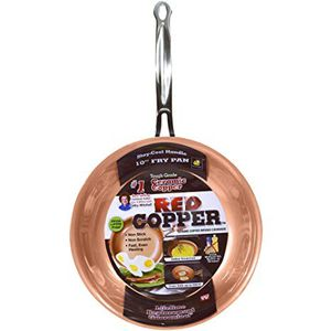 "Red Copper 10"" Fry Pan for Sale in Pickerington, OH"