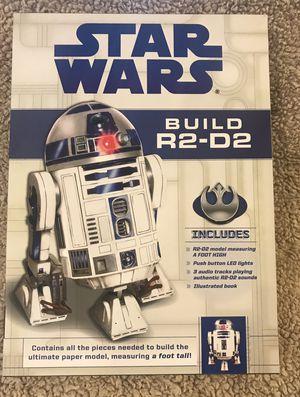 Build R2-D2 Paper model Kit for Sale in Ashburn, VA