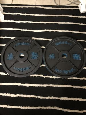 Olympic weight plates!!!!! for Sale in Spring Valley, CA