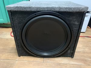 "130$ 1 sub NVX 15"" 750rms Dual coil connected to 1ohm for Sale in Phoenix, AZ"