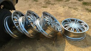 22 Inch Rims, Good condition. for Sale in Medford, OR