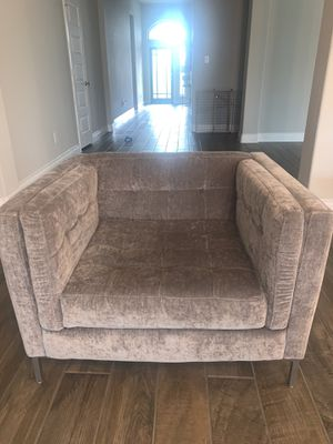 Single Grey Couch Chair for Sale in Fulshear, TX