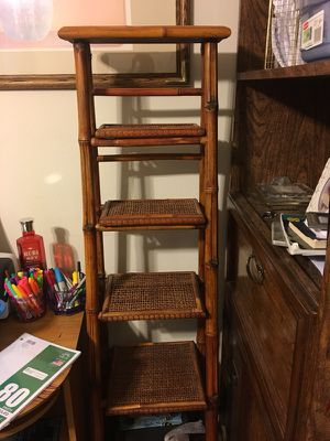 Bamboo shelf and tables for Sale in Jacksonville, FL