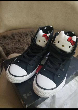 Converse Youth Hello Kitty addition size1 for Sale in Atlanta, GA