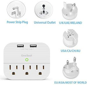 Multi plug wall outlet for us. Uk. And Australia NEW for Sale in Riverside, CA