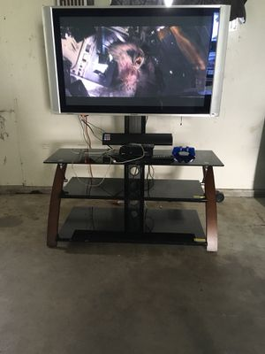 50 inch tv and stand for Sale in Hilbert, WI