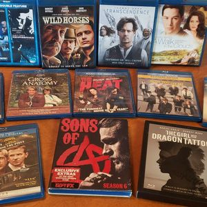 ~**12 Blu Ray Movies & 1 Blu Ray Season**~ for Sale in Happy Valley, OR