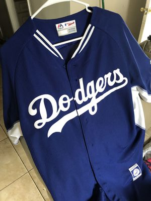 Dodgers majestic jersey for Sale in Bloomington, CA