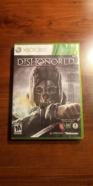 Xbox 360 Dishonored for Sale in Hawthorne, CA