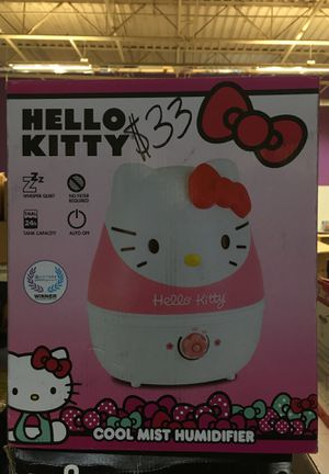 Crane 1gal cool mist humidifier hello kitty for Sale in Moreno Valley, CA