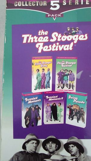Classic Three Stooges (VHS) for Sale in Mabelvale, AR