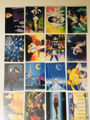 Sailor Moon trading cards for Sale in Richland Hills, TX
