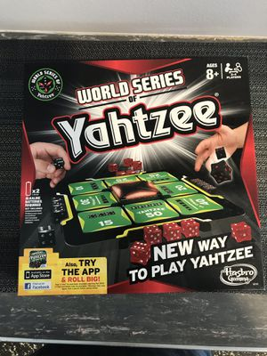 World Series of Yahtzee board game for Sale in Wheat Ridge, CO