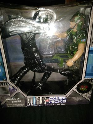In original packaging. KB Toys exclusive, Aliens 12 inch action figures, from Kenner Toys for Sale in Tyler, TX